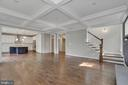 Great Room showing location of main stairs - 3414 BURROWS AVE, FAIRFAX