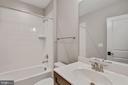 Lower Level Bathroom - 3414 BURROWS AVE, FAIRFAX