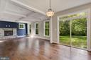 Great Room with lots of light - 3414 BURROWS AVE, FAIRFAX