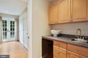 Wet bar in in-law suite/Master - 3540 N VALLEY ST, ARLINGTON