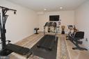 Exercise or media room - 7614 CHESTNUT ST, MANASSAS