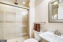 Lower level luxury shower w/3 shower heads! - 43207 SUMMITHILL CT, ASHBURN