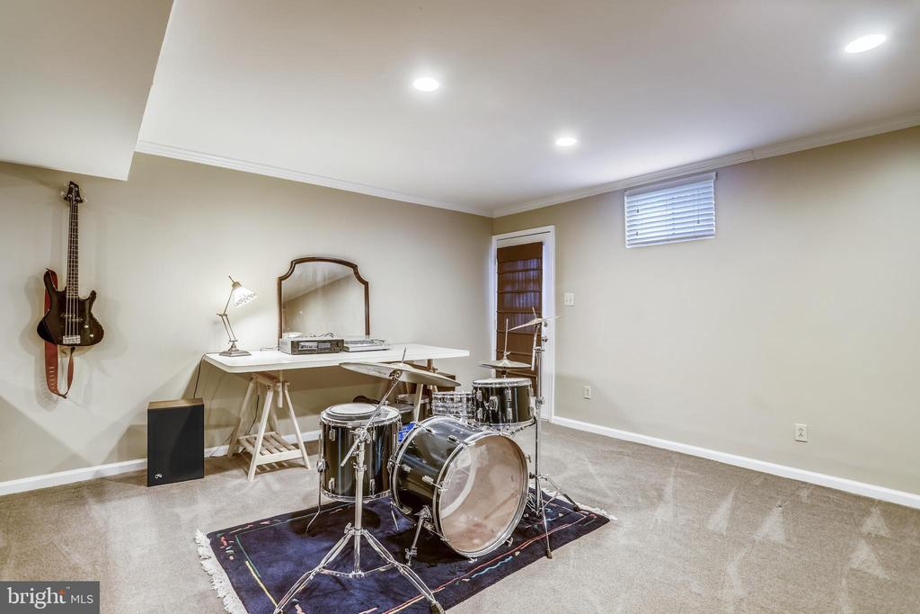 Lower level w/walk up stairs to back yard! - 43207 SUMMITHILL CT, ASHBURN
