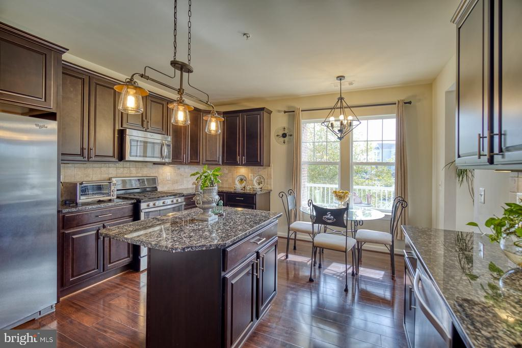 Stunning Gourmet Kitchen - 20590 HOPE SPRING TER #207, ASHBURN