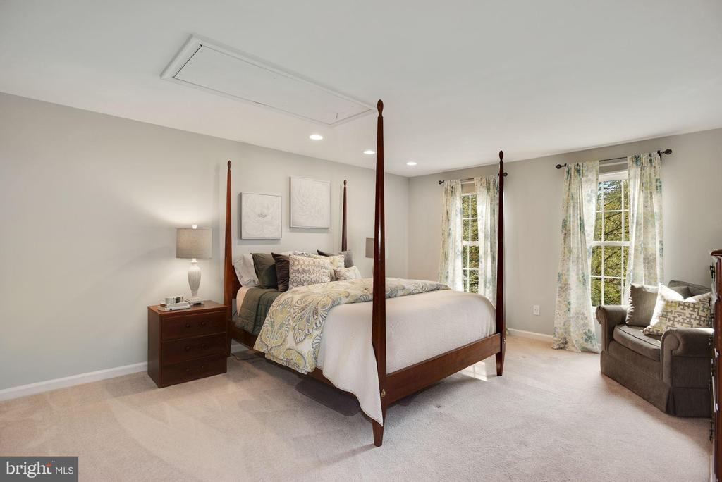 Roomy Master Bedroom - 7 COLEMAN LN, STERLING