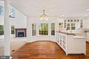 Space for a kitchen table with bay window - 11644 SANDAL WOOD LN, MANASSAS