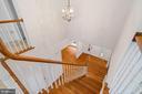 Upper Level, Hardwood Staircase - 11644 SANDAL WOOD LN, MANASSAS