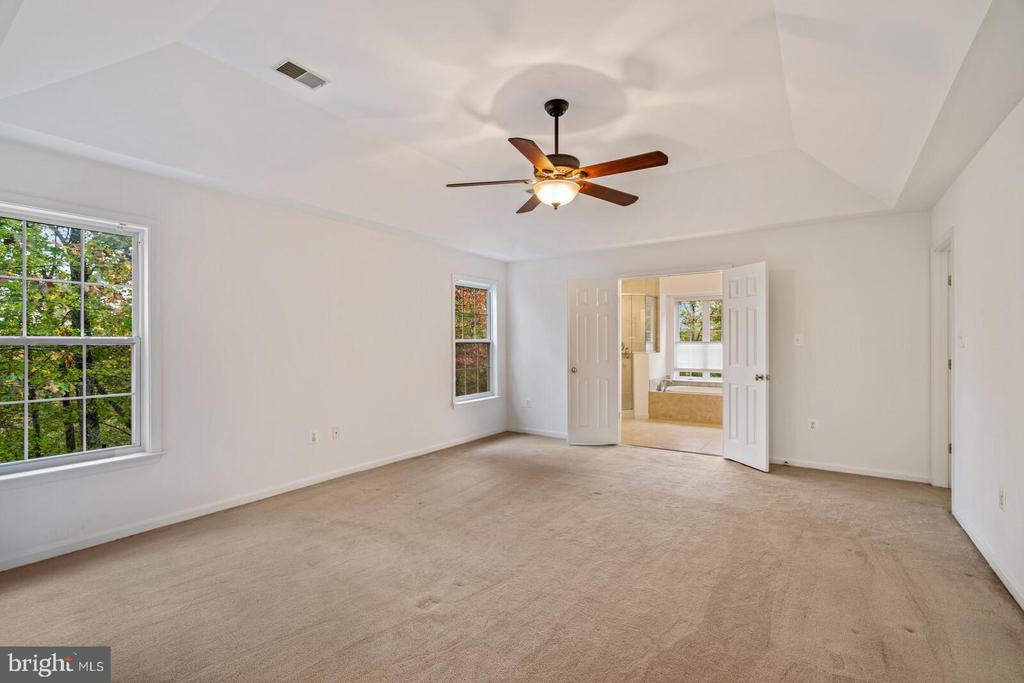 Primary Bedroom with Tray Ceiling - 11644 SANDAL WOOD LN, MANASSAS