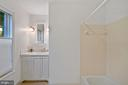 Ensuite Bath for Bedroom #4 - 11644 SANDAL WOOD LN, MANASSAS