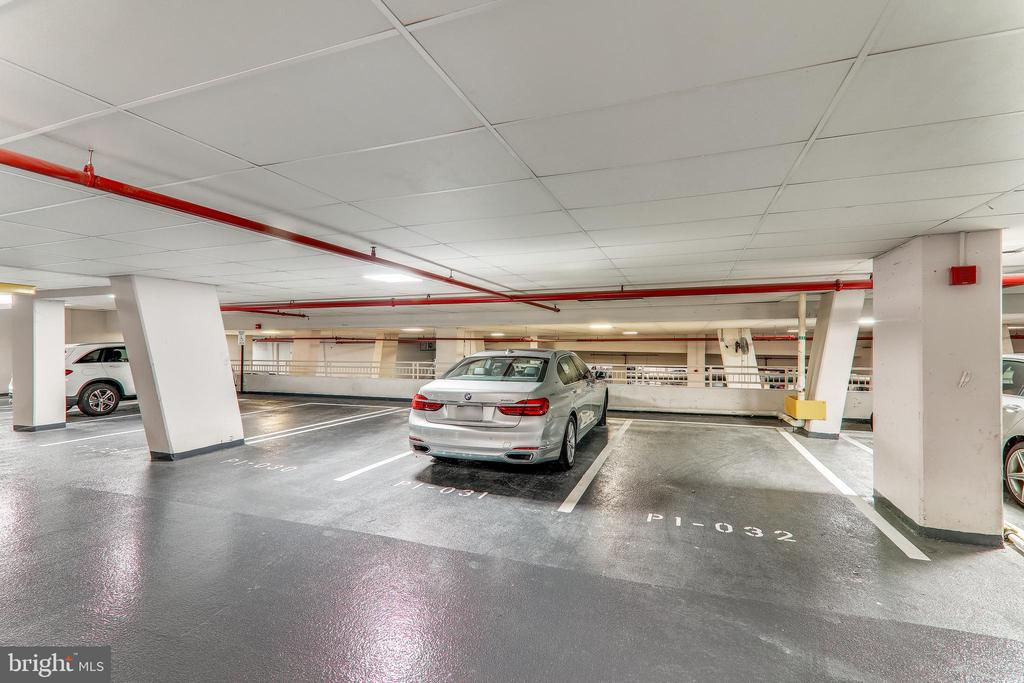 Two car parking garage spaces close to elevators - 8220 CRESTWOOD HEIGHTS DR #1916, MCLEAN
