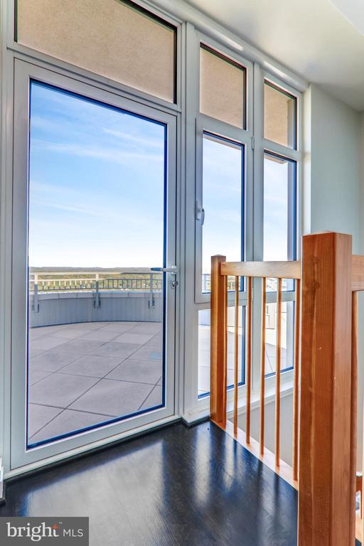 Private roof deck terrace - 8220 CRESTWOOD HEIGHTS DR #1916, MCLEAN