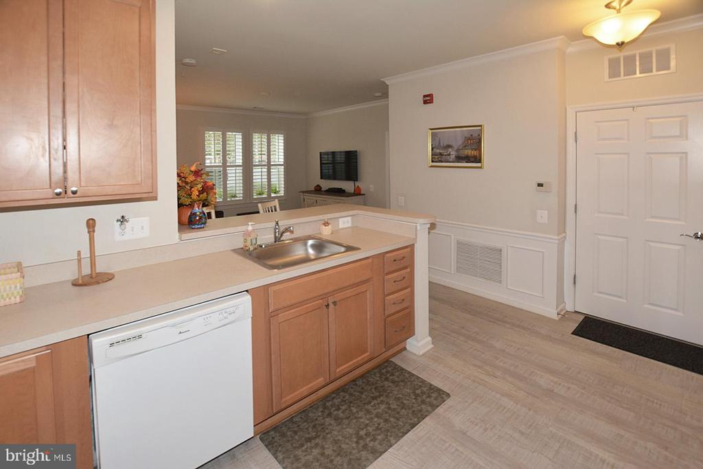 Very Open Kitchen with Plenty of Natural LIght - 20590 HOPE SPRING TER #104, ASHBURN