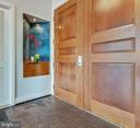 Double entry door privately place @ end of hallway - 8220 CRESTWOOD HEIGHTS DR #1916, MCLEAN
