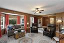 Huge family room with bay window - 821 W MAIN ST, PURCELLVILLE