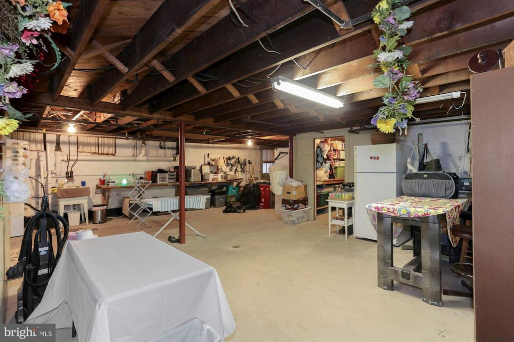 Huge basement with storage and walkout stairwell - 821 W MAIN ST, PURCELLVILLE