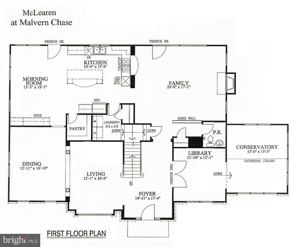 Main Level - 11902 HADDON LN, WOODBRIDGE