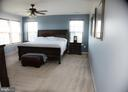 Large Master Suite with walk in closet, ensuite - 3 BRACEY MILL CT, FREDERICKSBURG
