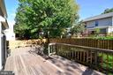 Expansive deck space - 915 SPRING KNOLL DR, HERNDON