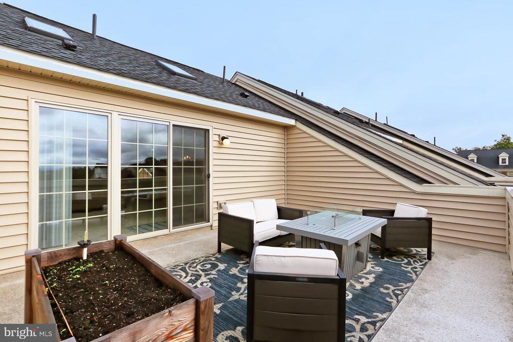 Rooftop Terrace - 42643 LANCASTER RIDGE TER, CHANTILLY