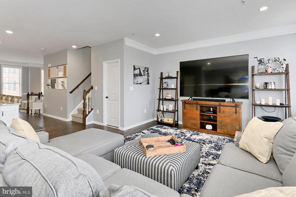 Family room - 42643 LANCASTER RIDGE TER, CHANTILLY