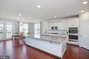 Gourmet Kitchen with 10 foot long eat-in island - 3479 SHANDOR RD, WOODBRIDGE