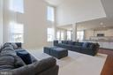Family Room with two-story ceiling - 3479 SHANDOR RD, WOODBRIDGE
