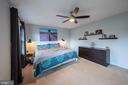 Relaxing master suite - 9219 GREENGATE CT, MANASSAS