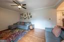 Steps lead down to family room - 9219 GREENGATE CT, MANASSAS