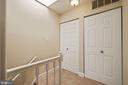 Upstairs Landing with Skylight - 3800 PORTER ST NW #302, WASHINGTON