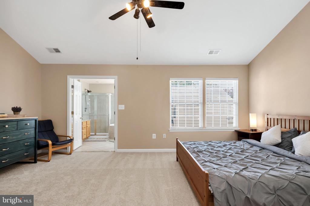 Wake up to stunning light filling your lrg mst bed - 4125 FAIRFAX CENTER CREEK DR, FAIRFAX