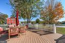 Deck - 17706 OLD FREDERICK ROAD, MOUNT AIRY