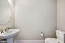 Main level powder room - 1418 N RHODES ST #B113, ARLINGTON