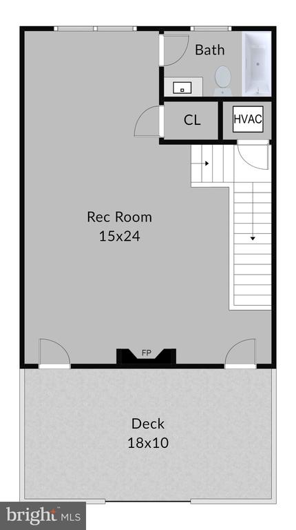4th level floorplan - 2990 DISTRICT AVE, FAIRFAX