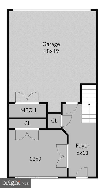 Main level floorplan - 2990 DISTRICT AVE, FAIRFAX