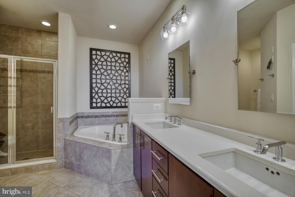 Deluxe primary bath with spa-like features - 2990 DISTRICT AVE, FAIRFAX