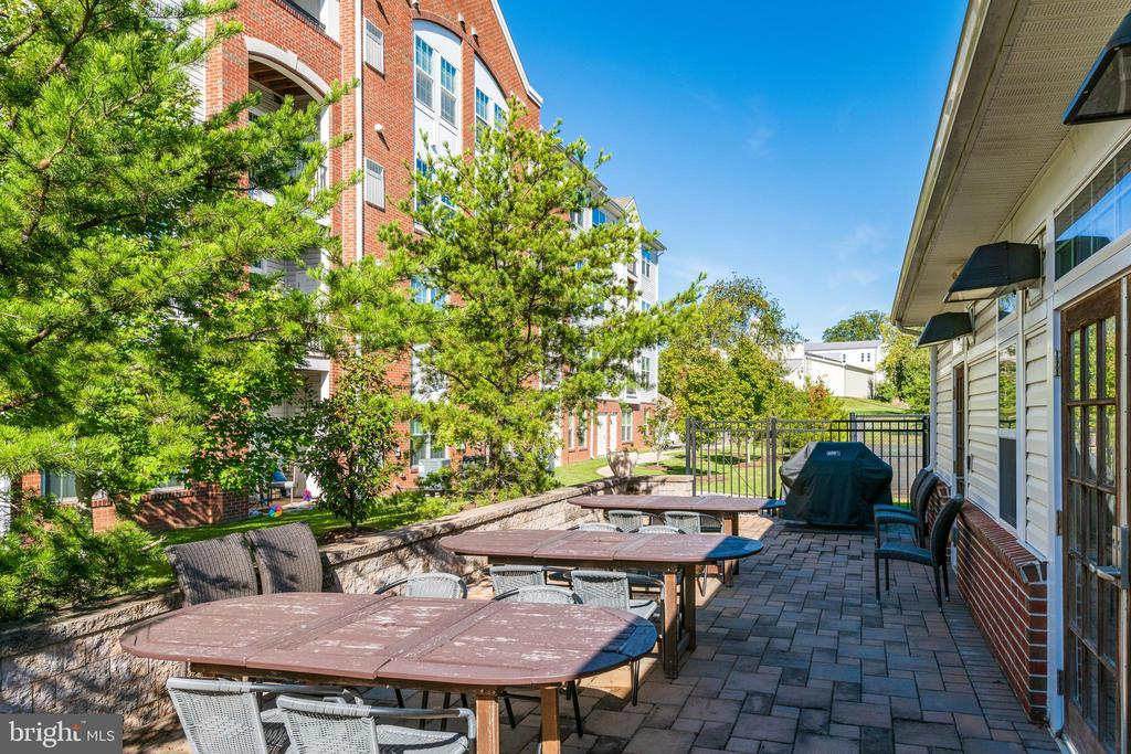 Outdoor cooking and picnic area - 9202 CHARLESTON DR #301, MANASSAS