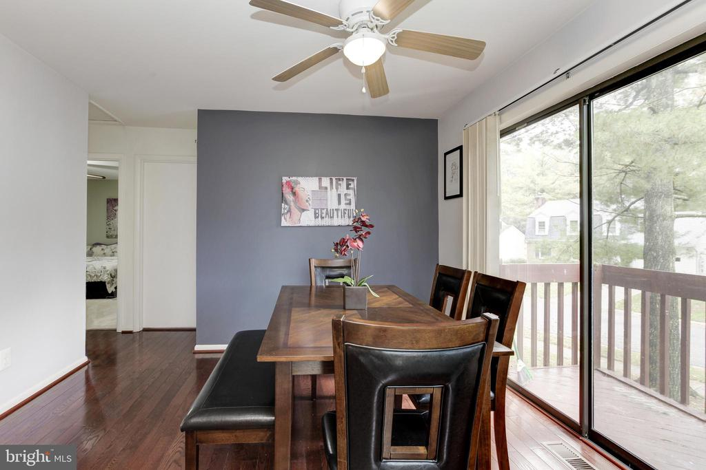 Dining room walks out to balcony! - 6291 CENTRE STONE RING, COLUMBIA