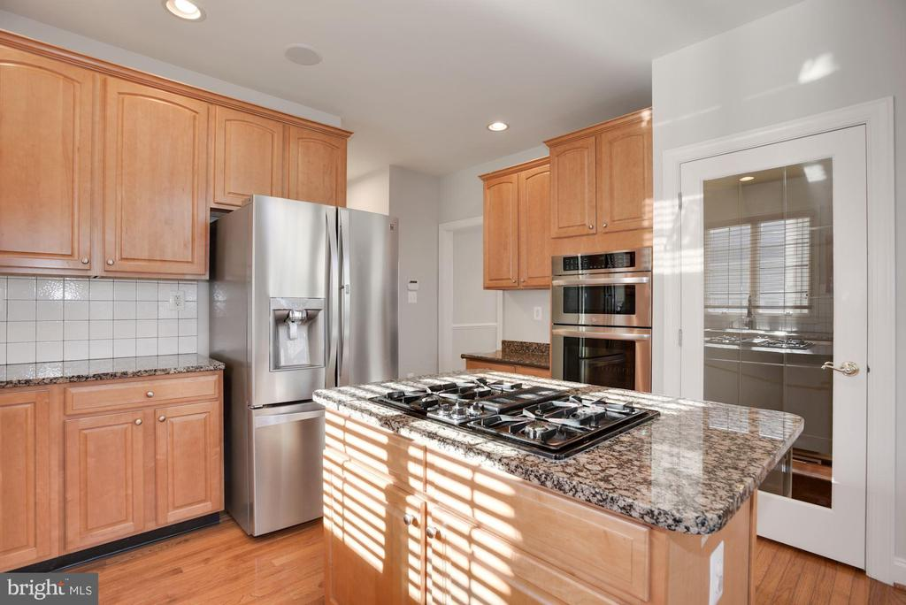 Gourmet Kitchen w/ Stainless & Granite - 19998 PALMER CLASSIC PKWY, ASHBURN