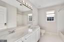 Upper Level Hall Bath - 19998 PALMER CLASSIC PKWY, ASHBURN