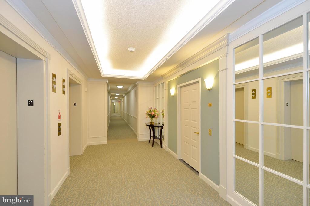 Second floor elevators - 19350 MAGNOLIA GROVE SQ #211, LEESBURG