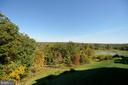 Porch view of pond and golf course - 19350 MAGNOLIA GROVE SQ #211, LEESBURG