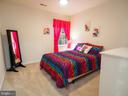 Large bedroom, all with ceiling fans - 7755 WALLER DR, MANASSAS