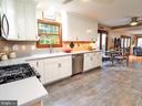 Gourmet kitchen with gorgeous gray tile - 7755 WALLER DR, MANASSAS