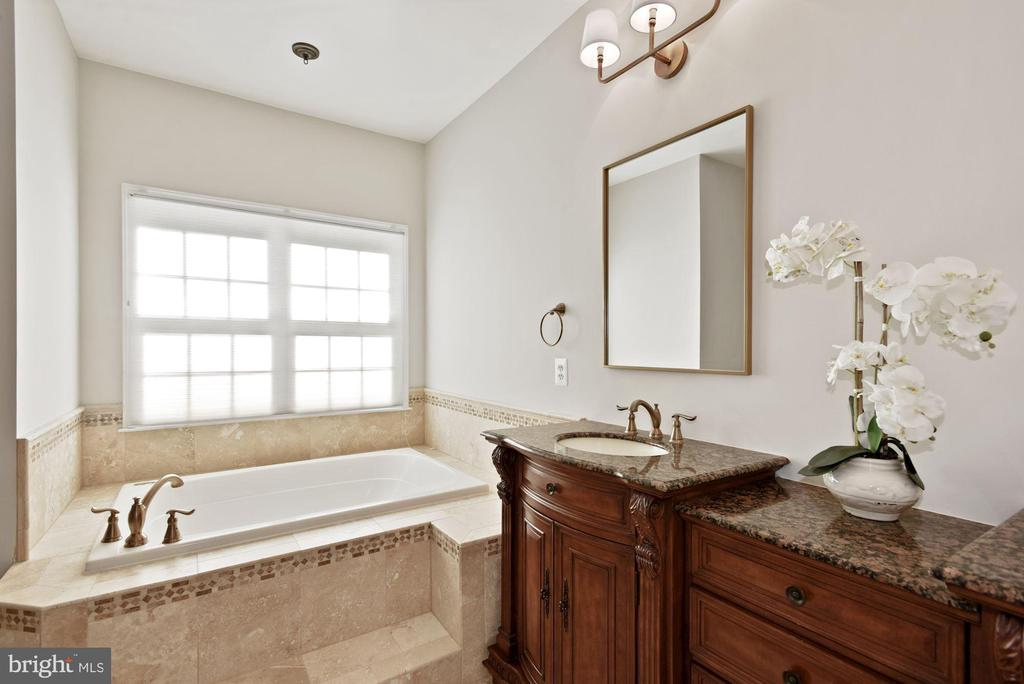 Updated Master Bath - 19658 OLYMPIC CLUB CT, ASHBURN