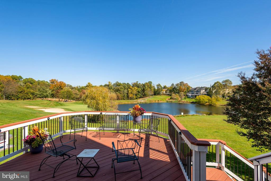 Amazing View From The Deck - 19658 OLYMPIC CLUB CT, ASHBURN