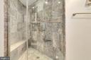 Marble Master Bath with Separate Shower - 1881 N NASH ST #1410, ARLINGTON