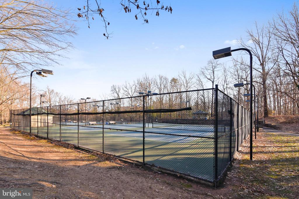 Tennis Courts - 1636 STOWE RD, RESTON