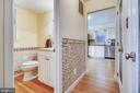 Half Bath on Main Level - 1636 STOWE RD, RESTON