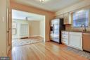Kitchen Opens to Family Room - 1636 STOWE RD, RESTON