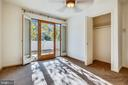 3rd Bedroom opens to Private Sundeck - 1636 STOWE RD, RESTON